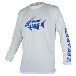 Speared Hogfish UV Tee +50 UPF Long-Sleeved Sunshirt