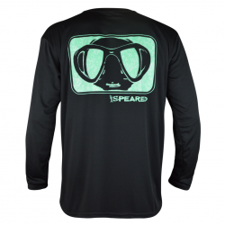 Speared Camo Mask UV Tee +50 UPF Long Sleeved Sunshirt (Men's)