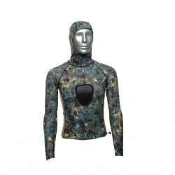Tilos Spearfishing Shirt With Hood (Men's)