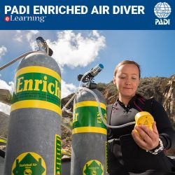 PADI Enriched Air eLearning Certification Pak