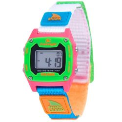 Freestyle Shark Mini Leash Watch- Black/Neon