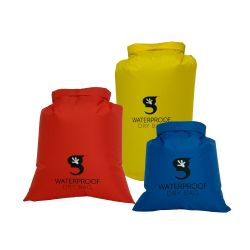 Geckobrands 3 Pack Compression Dry Bags