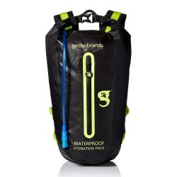 Geckobrands Hydration Backpack with 3L Water Bag