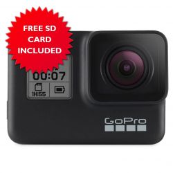 GoPro Hero7 Black Hypersmooth Live-Streaming Action Camera