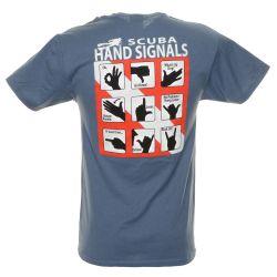 Scuba Hand Signals Dive T-Shirt (Men's)