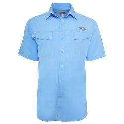 Hook & Tackle Men's Coastline Short-Sleeve Fishing Shirt