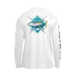 Hooked Long-Sleeve Tuna Diamond Shirt