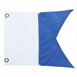 Alpha International Nylon Dive Flag, 20x24 inches