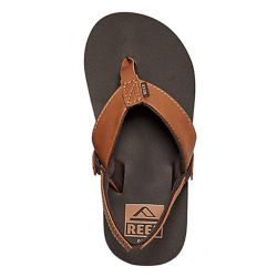 Reef Grom Twinpin Water-Friendly Vegan Sandals (Kids) - Brown