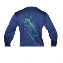 Koah Spearfishing X-DRI Performance Shirt - Bluewater Tuna