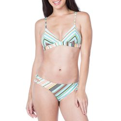 Bikini Lab South Beach Striped Hipster Swimsuit Bottom (Women's)