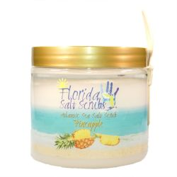 Florida Salt Scrubs Pineapple Salt Scrub - 12.1-oz. Jar