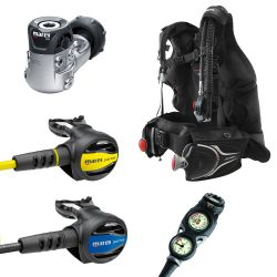 Mares Journey Elite 3.0 Scuba Gear Package with Mission 3-Gauge Console
