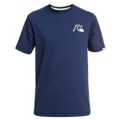 Quiksilver Bubble Logo Short-Sleeve UPF 50+ Surf Tee (Boys')