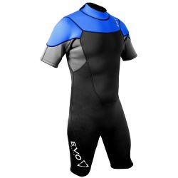 SALE! EVO Elite 3mm Shorty Wetsuit (Men's) - Blue