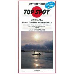 Top Spot Fishing Map Miami Area