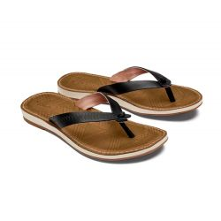 OluKai Hawai'iloa Kia Hope Women's Leather Beach Sandals