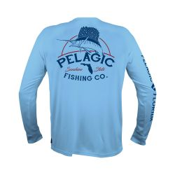 PELAGIC Florida Fish Co. AquaTek UPF 50+ Sunshirt (Men's)