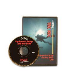 PADI Tecrec Equipment Skills DVD