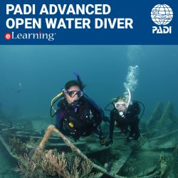 PADI Advanced Open Water Diver eLearning® Online Certification Pak - Classroom Portion