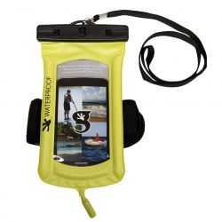 Gecko Floating Waterproof Phone Dry Bag with Armband and Audio Cord