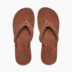 Reef Swing 2 Leather Sandals (Women's) - Tobacco