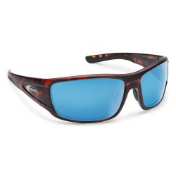 Suncloud Tribute Polarized Polycarbonate Sunglasses -  Matte Tortoise/Blue Mirror