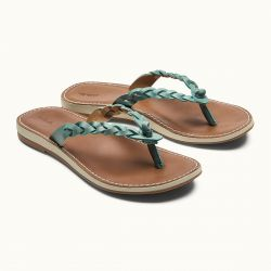 OluKai Kahiko Leather Sandals (Women's)