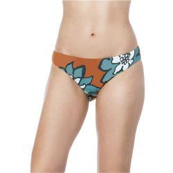Bikini Lab Desert Petals Cinched Back Hipster Bikini Bottom (Women's)
