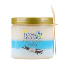 Florida Salt Scrubs Vanilla 24.2 oz Jar