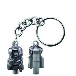 Sparta Pewter BC Tank Key Chain