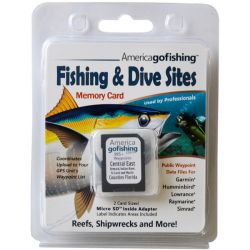 Florida-Go-Fishing GPS Dive and Fishing Spot Locations - Central East Florida