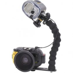 Sea & Sea DX-6G Pro Underwater Camera Set: Camera, Light Kit, and Wide-Angle Conversion Lens