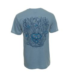 Duck Co. Seaweed Dive T-Shirt (Men's) - Air Force Blue