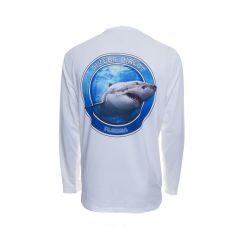Native Outfitters Great White Shark DRiQ UPF 50+ Long-Sleeve Sunshirt (Men's)