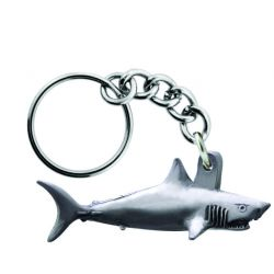 Sparta Pewter Shark Key Chain