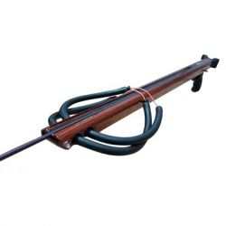 Koah Shortie 38in Enclosed-Track Mahogany Speargun