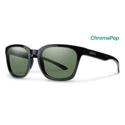 Smith Founder Black Frames with Chromapop Polarized Gray Green Lens