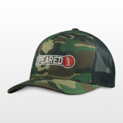 Speared Apparel Premium Camo Trucker Hat (Men's)