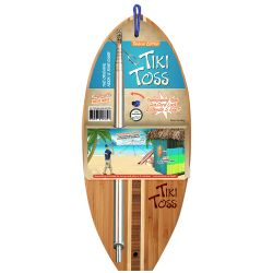 Tiki Toss Deluxe Ring Toss Game