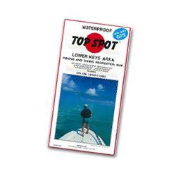 Top Spot Fishing Map Lower Keys