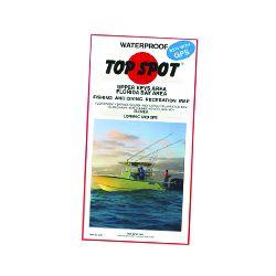 Top Spot Fishing Map Upper Keys