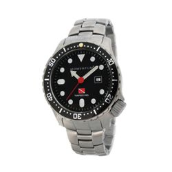 Torpedo Watch Pro Large Black - Steel Bracelet