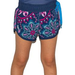 Wave Life Paisley Park Girls' Side Tie Shorts