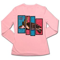 Native Outfitters Sea Turtle Quad +50 SPF Sun Shirt (Women's)