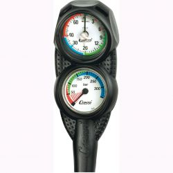 Cressi Mini 2 Gauge Console - SPG/Depth Gauge