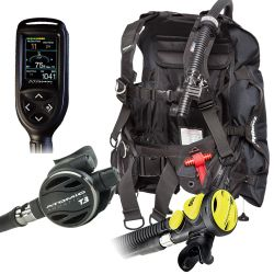 Zeagle Stiletto BCD Scuba Gear Package: Atomic B2, Z2, and Cobalt Dive Computer