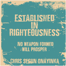 Established in Righteousness