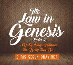 The Law in Genesis (Series 2)