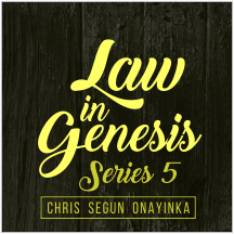 Law In Genesis 5